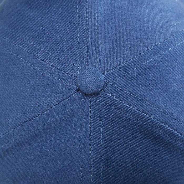Casquette W500 fille GYM ENFANT bleu imprimé