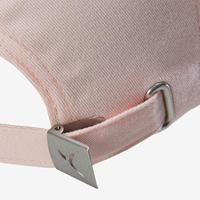 Girls' Gym Cap W100 - Pink/Pink Print