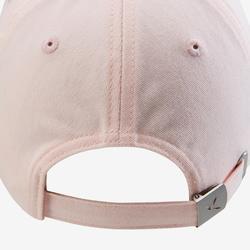Cap W500 Gym Kinder rosa bedruckt