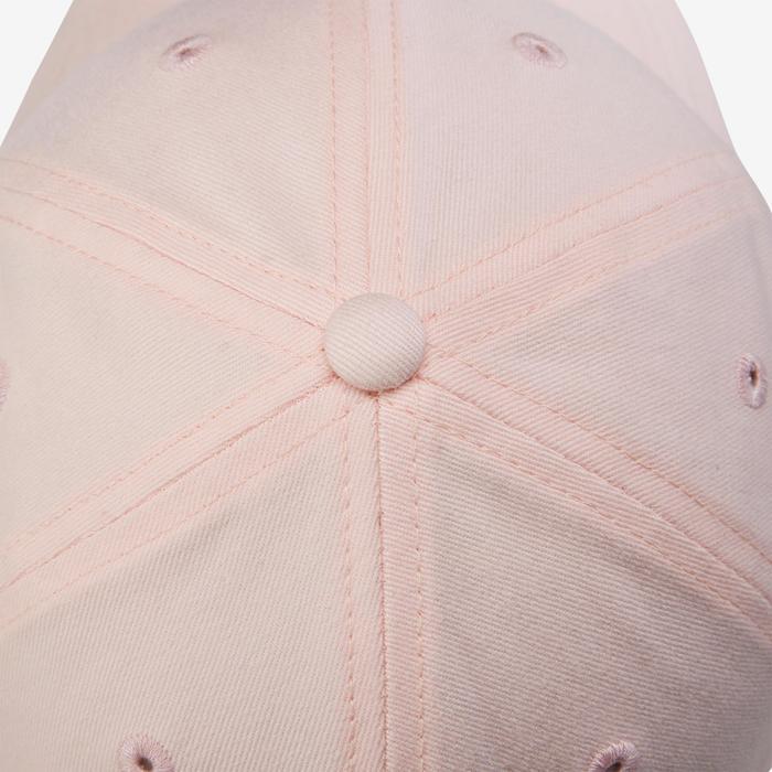 Casquette W500 fille GYM ENFANT rose imprimé
