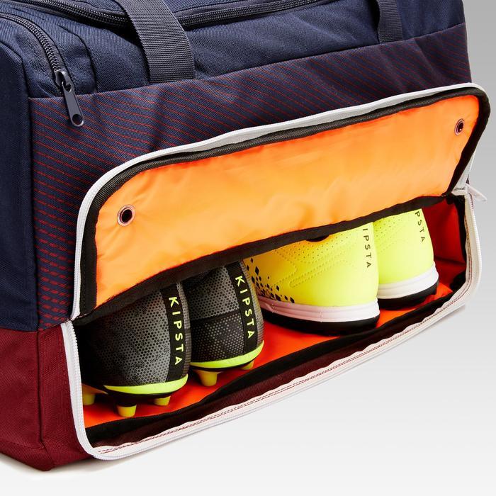 Sporttasche Hardcase 45 Liter blau/bordeaux