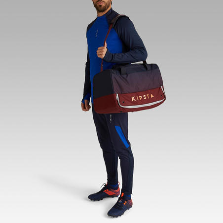 45L Team Sports Hardcase Bag - Blue/Burgundy