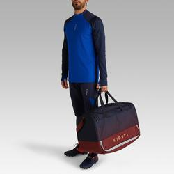 Sporttas hardcase 75 liter blauw bordeaux