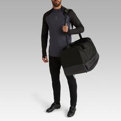 Voetbaltas / Sporttas Hardcase 75 liter zwart
