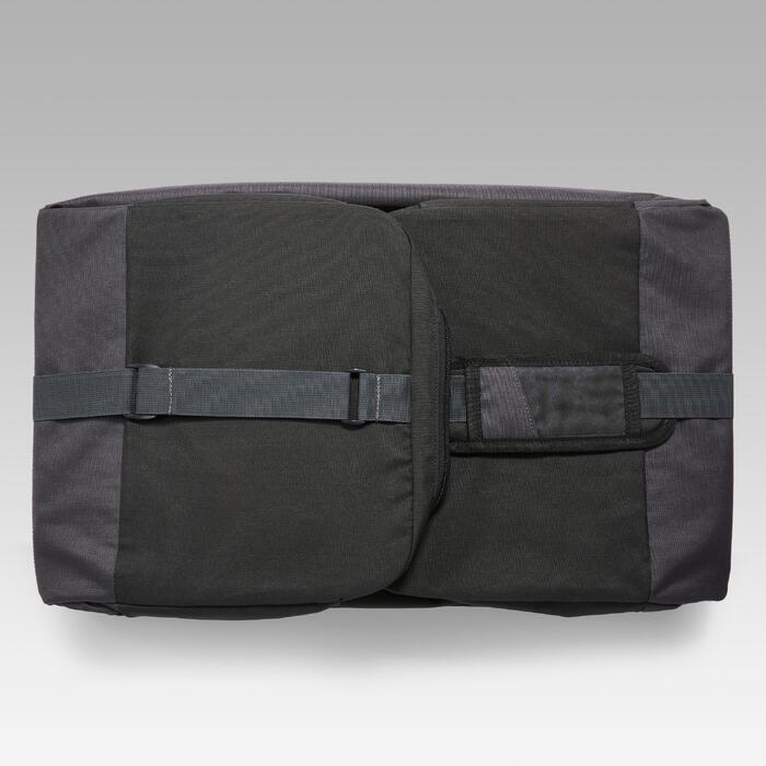 Sporttas Hardcase 75 liter zwart