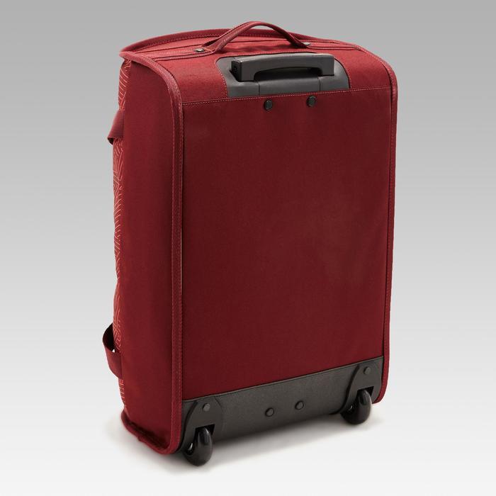 Sporttas op wieltjes Classic 30 liter rood