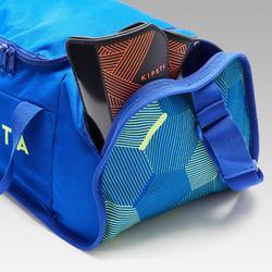 運動包Kipocket 20 L-藍色/黃色