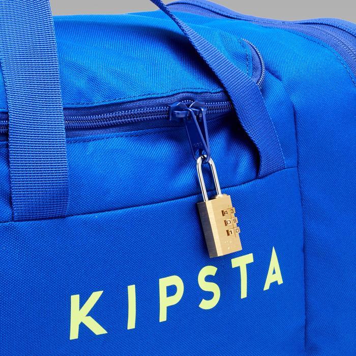 Sporttas Kipocket 20 liter blauw/geel