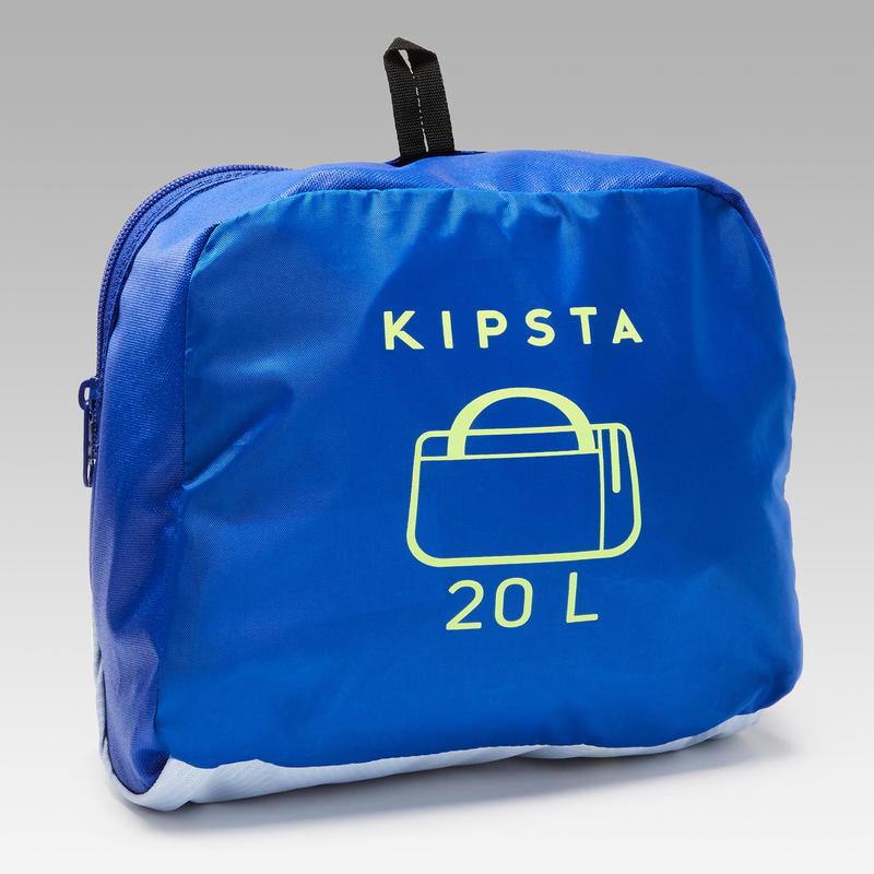 Túi thể thao Kipocket 20 Lít - Xanh dương/Vàng
