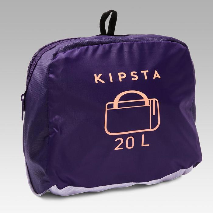 Sporttasche Kipocket 20l violett/koralle