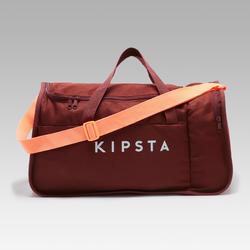 Bolsa Deporte Kipsta Kipocket 40L Rojo Granate Coral