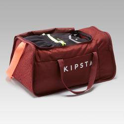 Sac de sport Kipocket 40 litres rouge et corail