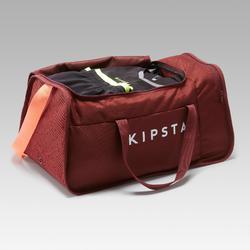 Sporttas Kipocket 40 liter rood/koraalrood