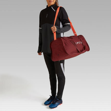Kipocket 40 L Team Sports Bag Red/Coral
