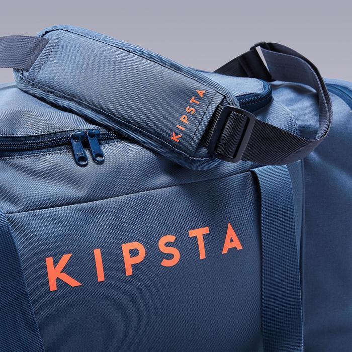 Bolsa Deporte Kipsta Kipocket 60L Azul Naranja
