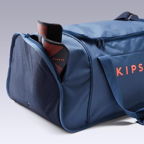 0f4b4cbda8 Sac de sport Kipocket 60 litres bleu et orange. BIENTÔT DISPONIBLE.  Previous. Next