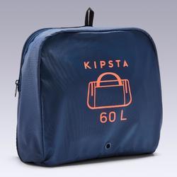 Sac de sport Kipocket 60 litres bleu et orange