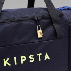 Bolsa Deporte Kipsta Kipocket 80L Azul Amarilla