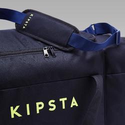 Bolsa de deporte kipocket 80 litros azul y amarilla