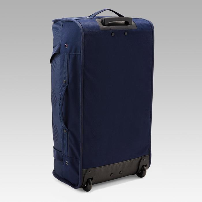 Sporttasche Classic 70 Liter Trolley blau/orange