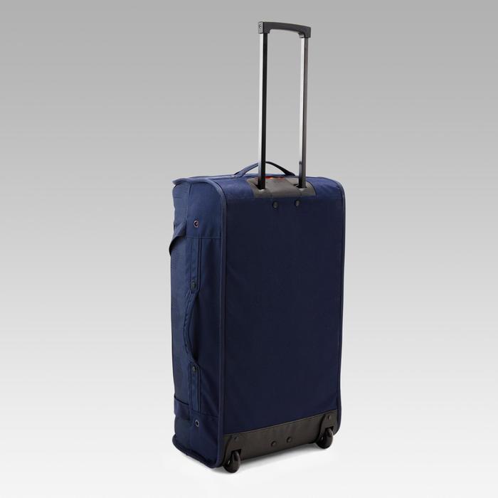 Trolley sporttas Classic 70 l blauw