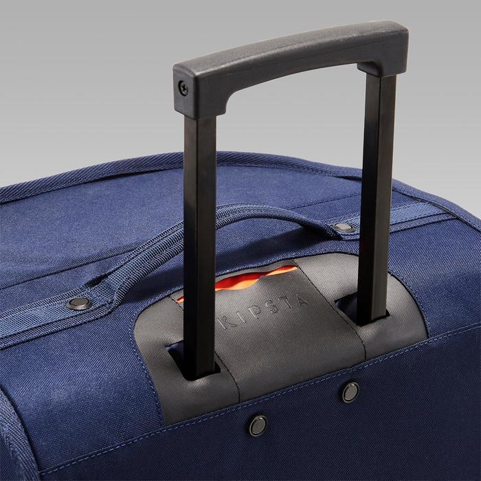 Classic 70 Litre Trolley Wheeled Bag - Blue/Orange