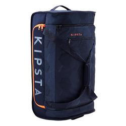 Classic 70 Litre Trolley Wheeled Bag - Blue/Orange