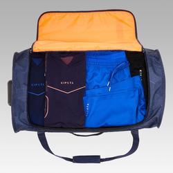 Sporttas op wieltjes Classic 70 l blauw en oranje