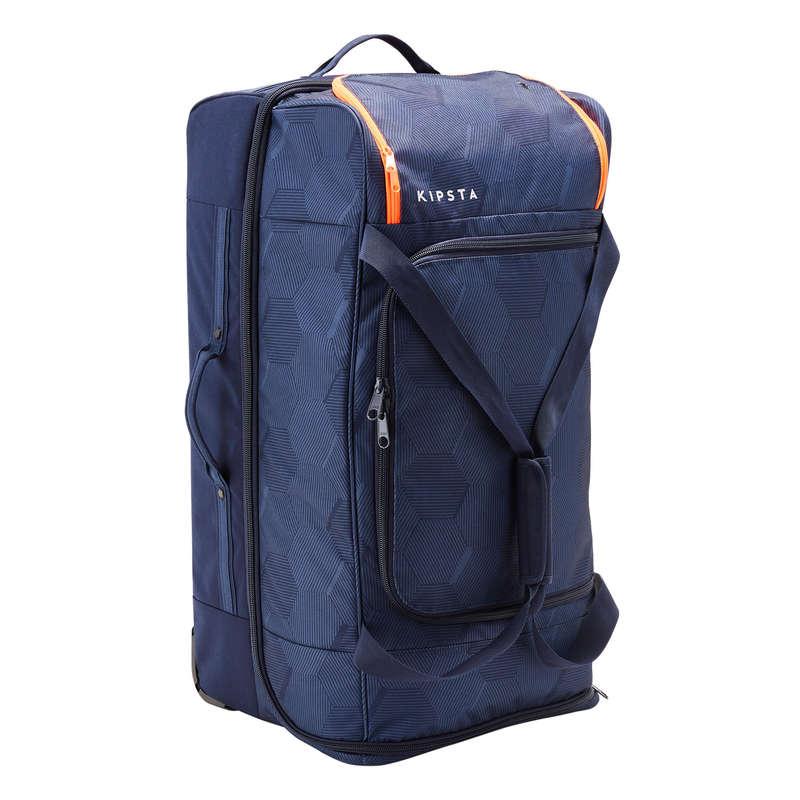 Borse sport collett. Sport di squadra - Trolley ESSENTIAL 105L blu KIPSTA - Borse, pettorine, ostacoli e accessori