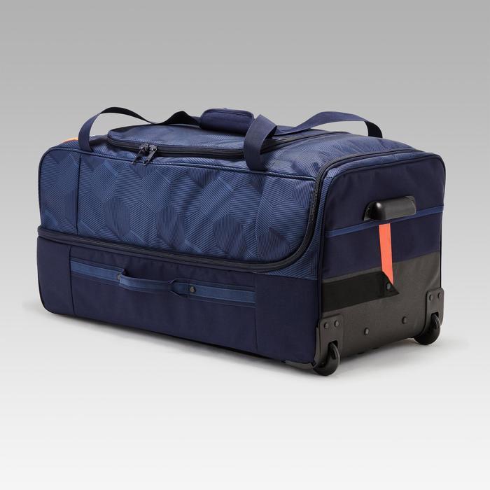 Sporttasche Trolley Classic 105 Liter blau/orange