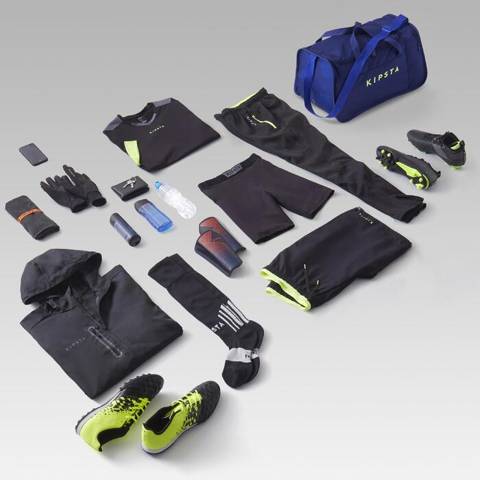 Sporttasche Kipocket 40Liter blau/gelb