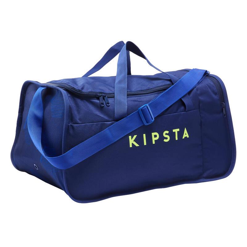 Tašky na kolektívne športy FUTSAL - TAŠKA KIPOCKET 40 L MODRÁ KIPSTA - DOPLNKY A PRÍSLUŠENSTVO NA FUTSAL
