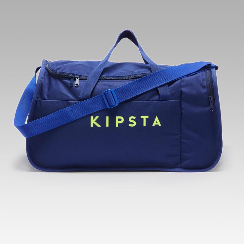 Sac de sport Kipocket 40 litres bleu et jaune