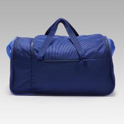 Sporttas Kipocket 40 liter blauw en geel