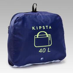 Voetbaltas / sporttas Kipocket 40 liter blauw