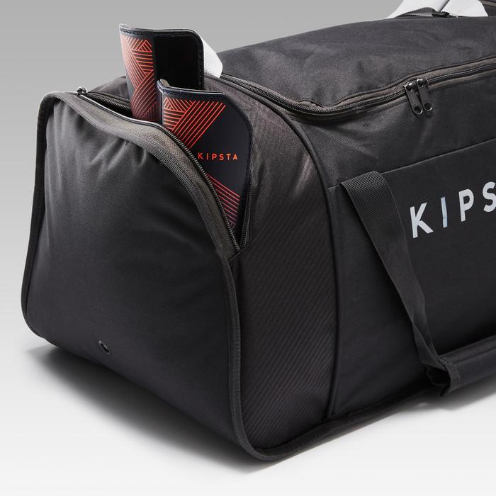 Bolsa de deporte Kipocket 60 litros gris carbono