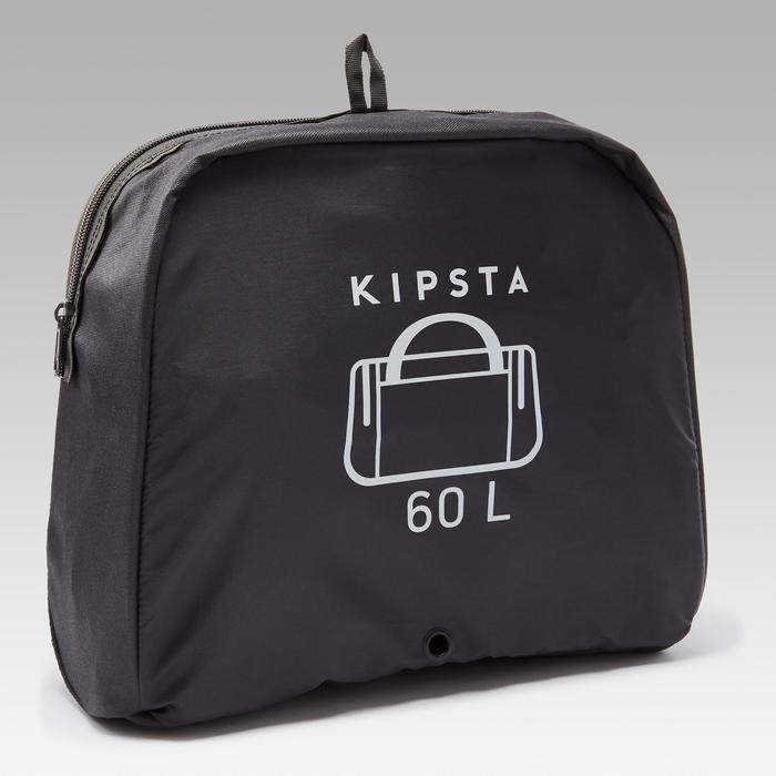 Sporttas Kipocket 60 liter steenkoolgrijs