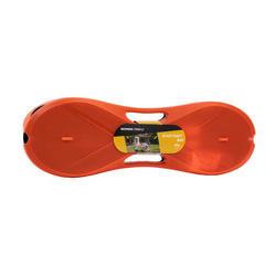 簡易羽球網-橘色