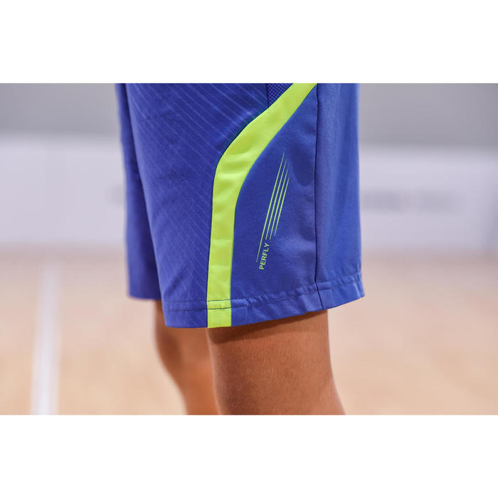 Short Junior 560 - Bleu/Jaune