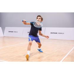 Badmintonracket voor jongens BR 100 blauw