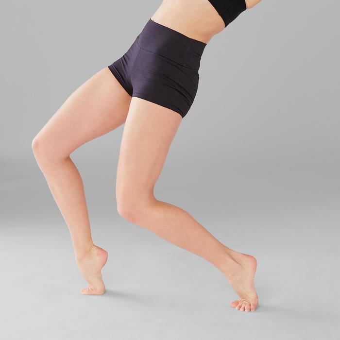 Mini short moulant danse moderne femme noir
