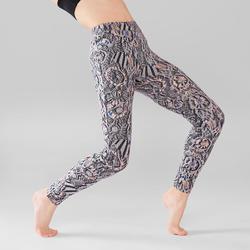 Legging Danza Moderna Domyos Niña Gris Estampado