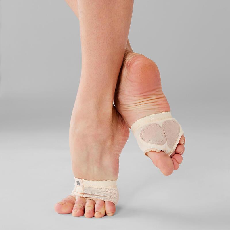 Protectores de pie de danza modern'jazz y contemporánea color piel
