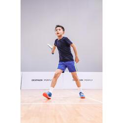 Raquette De Badminton BR100 Junior- Bleu/Jaune