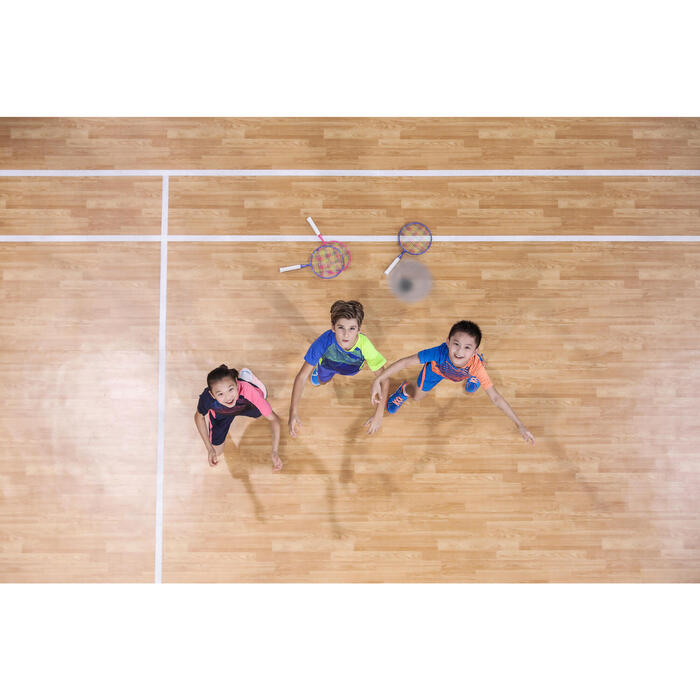 Badmintonrackets voor kinderen in set BR Discover