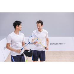 Set de Raquettes De Badminton Adulte BR 100 Starter - Jaune/Bleu