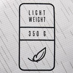5號輕量混合足球F100-白黑銀配色