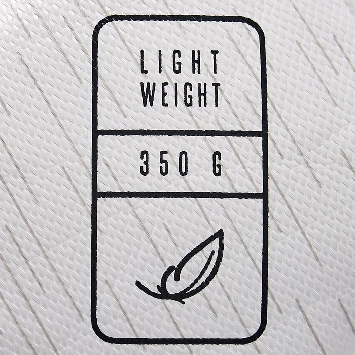 Fußball F100 Hybrid Light Größe 5 weiß/schwarz/silber