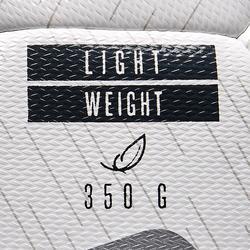 Voetbal F500 hybride light maat 5 wit zwart zilver
