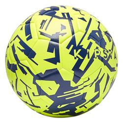 F100 Light Hybrid Football Size 5 - Yellow/Blue